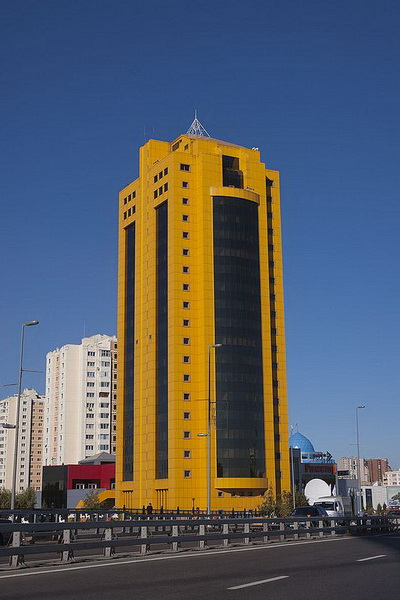 astana tower business center awarded breeam in use excellent rating. Black Bedroom Furniture Sets. Home Design Ideas